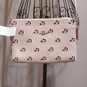 Coach crossover handbag